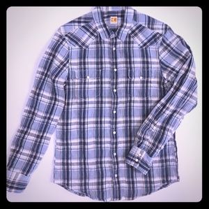 Hugo Boss Orange Western shirt SIZE LARGE